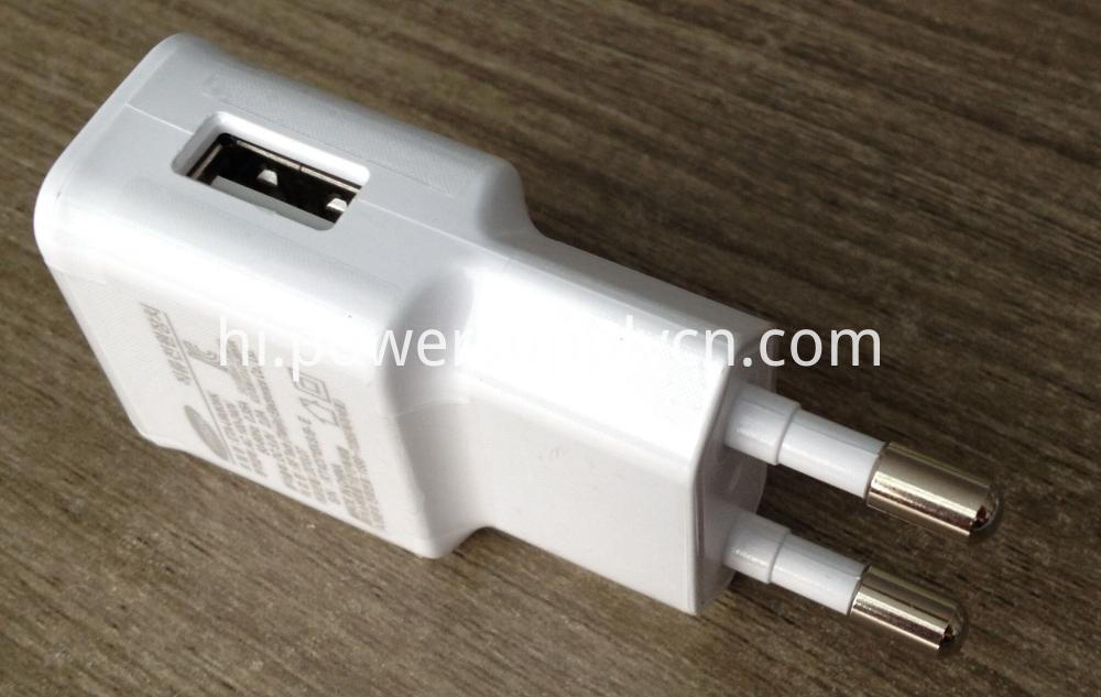 EU Plug USB Phone Charger 5V2A